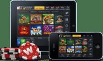 スマートフォンとタブレットのオンラインカジノ