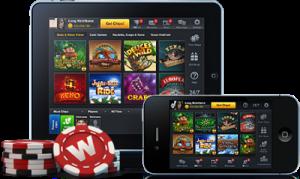 モバイル上のカジノ